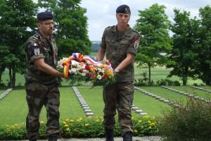 Cimetière militaire  allemand de Berneuil Deutscher Soldatenfriedhof Berneuil